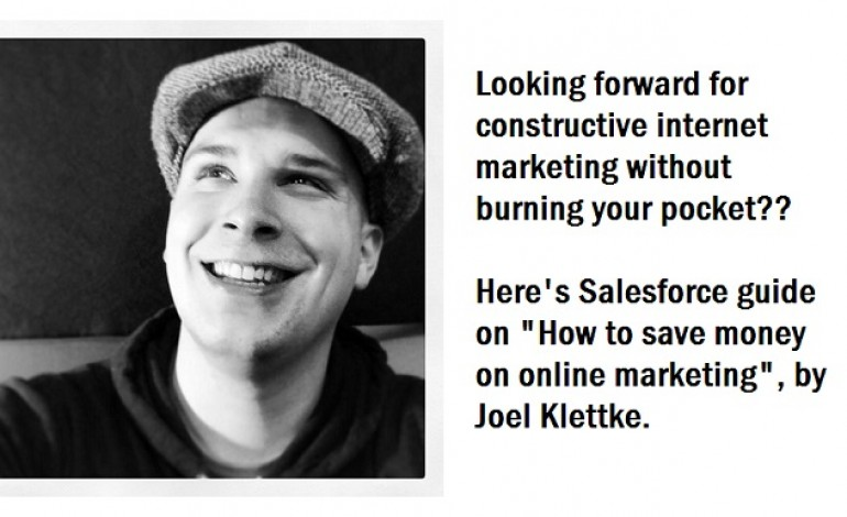 Salesforce guide for How to save money on online marketing ?