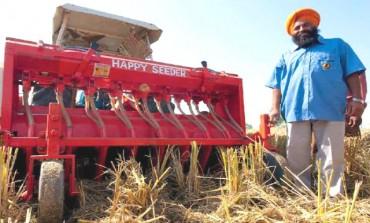 A tech savvy farmer saves wheat crop in Haryana