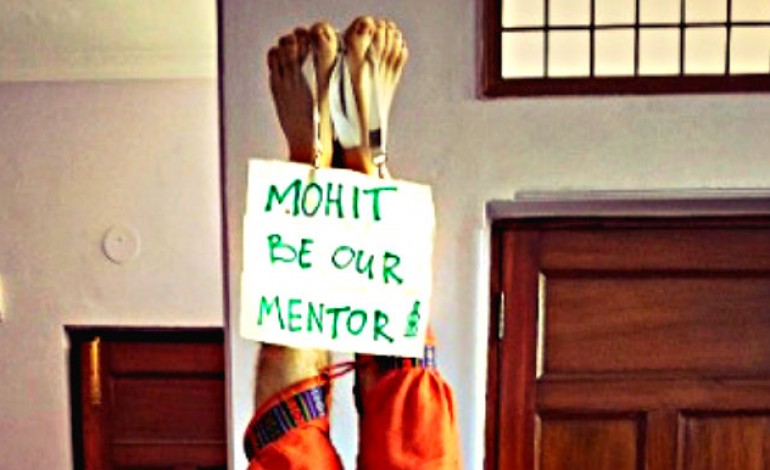"""Inspirational story - """"How these startup co-founders met former head of AirBnB India"""""""