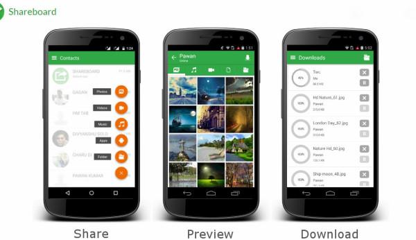 Shareboard a file sharing app
