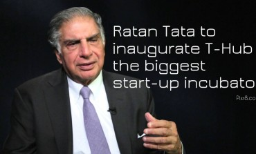 Ratan Tata to inaugurate T-Hub, the biggest start-up incubator
