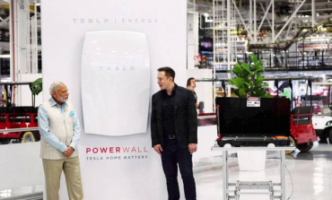 Solar batteries - The Surprising Reason on Why Indian PM Modi Visited Tesla