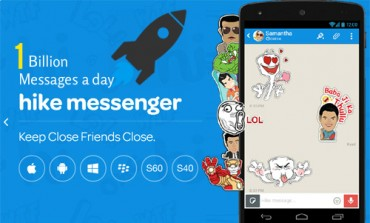 Breaking News: Hike has touched 1 Billion Messages a day