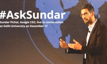 LIVE BLOG: Google CEO Sundar Pichai at SRCC (Delhi University)