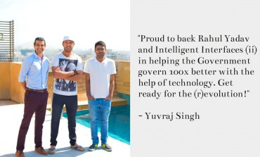 Indian Cricketer Yuvraj Singh backs Rahul Yadav's e-governance startup