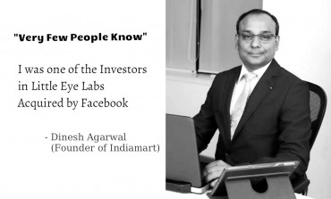 Dinesh Agarwal - Founder & CEO of IndiaMart, Also Invested in Little Eye Labs (acquired by Facebook)