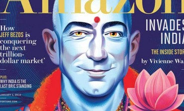"Jeff Bezos Shows as a Hindu God ""Lord Vishnu"" on Fortune Magazine Cover, Irks NRI"