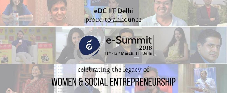 E-Summit 2016 – Live From IIT Delhi