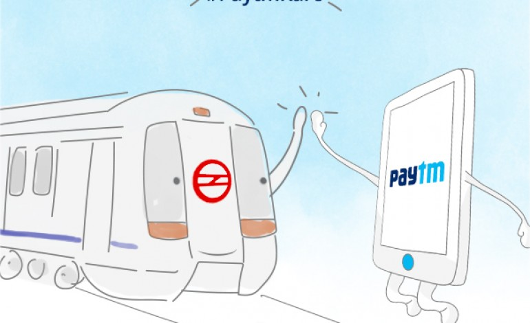 Now Recharge Your Delhi Metro Card Using Paytm!