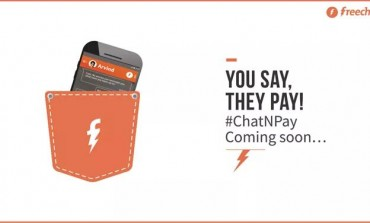 "Now ""Chat and Pay"" Within 5 Seconds on FreeCharge From Thursday!"