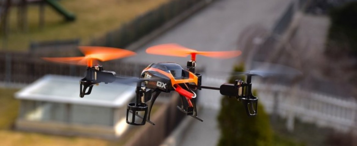 Drone Makes First Urban Package Delivery in US
