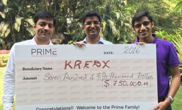 Prime Venture Partners Invests $750,000 in KredX
