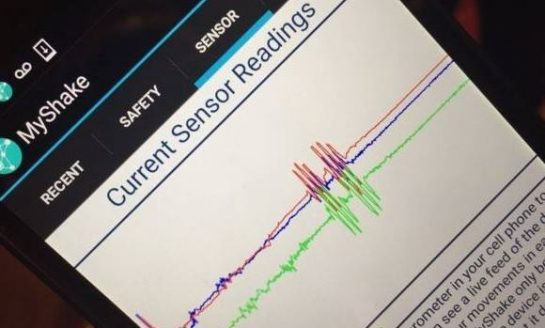 Myshake - A New Smartphone App That Can Detect Earthquakes