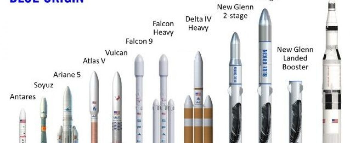 Amazon's Jeff Bezos Unveils New Rocket to Compete With SpaceX