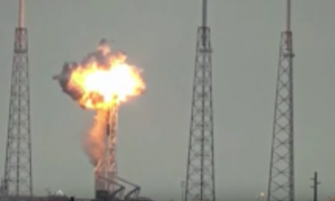 Facebook Satellite Blast During Launch of SpaceX Rocket