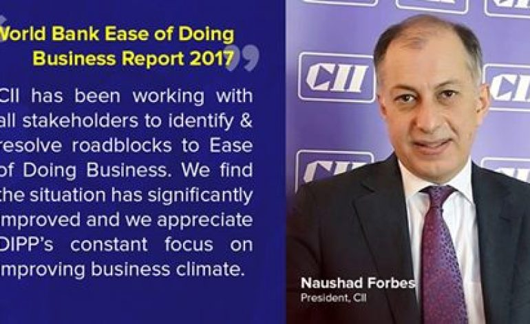 Indian Industry Body CII is Not Happy With World Bank's Doing Biz Ranking of India