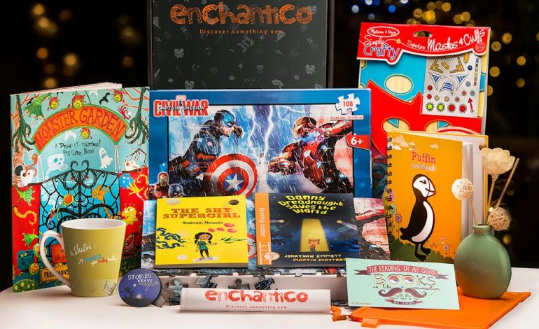 Enchantico- India's First Book Subscription Box For Kids