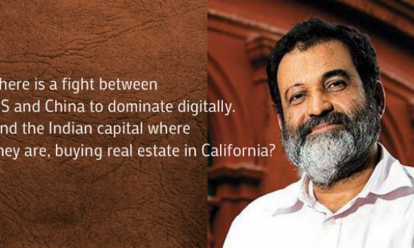 Mohandas Pai Warns Indian Businessmen For Not Investing in Indian Startups