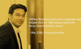 Innovation Helped us Hold Over 3/4th Market Share: Ola COO Pranay Jivrajka