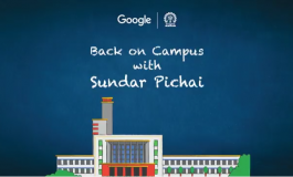 Live Blog: Google CEO Sundar Pichai Conversation at IIT-KGP