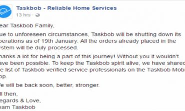 Mumbai Based Home Services Startup Taskbob Shuts Shop