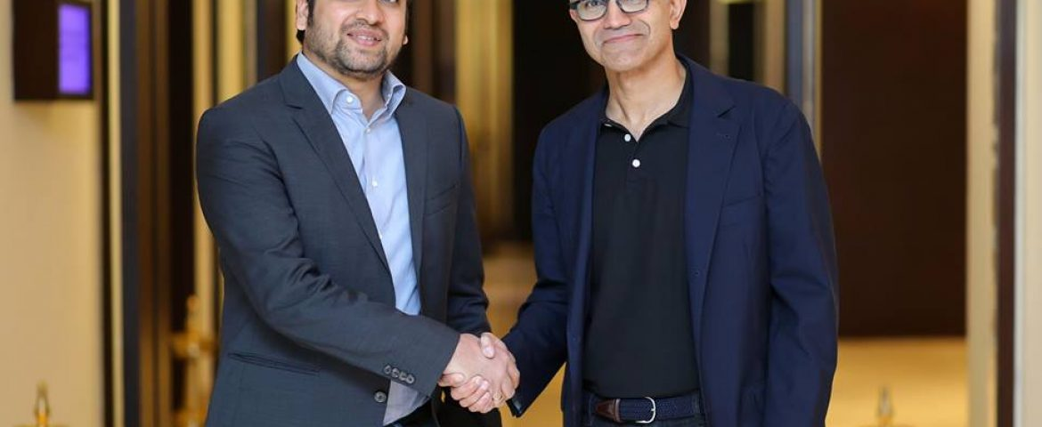 Flipkart CEO Binny Bansal and Microsoft CEO Satya Nadella Announce Key Partnership to Expand E-commerce in India