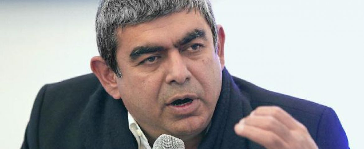 Media Talk on Infy Corporate Governance Issues Distracting: Vishal Sikka