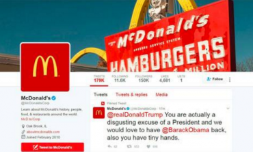 Mc'Donald's Trumpet' - Company Apologises For Hacked Tweet Slamming US President