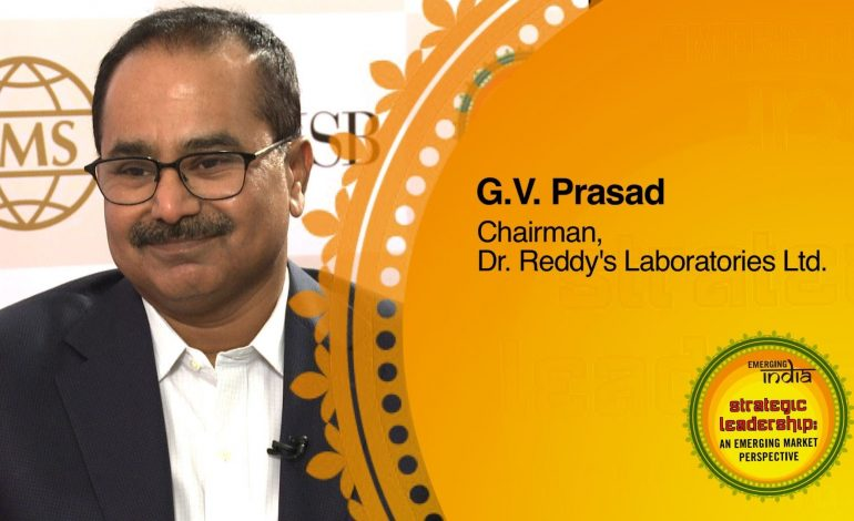 Health Care Holds Amazing Opportunities For Startups- GV Prasad, Dr Reddy's Laboratories