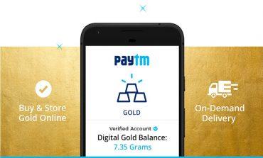 Now Get 'Digital Gold' As Cashback On Paytm