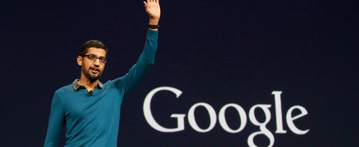 Google's CEO Sunder Pichai & Nasdaq Chairman to receive 2019 Global Leadership Award