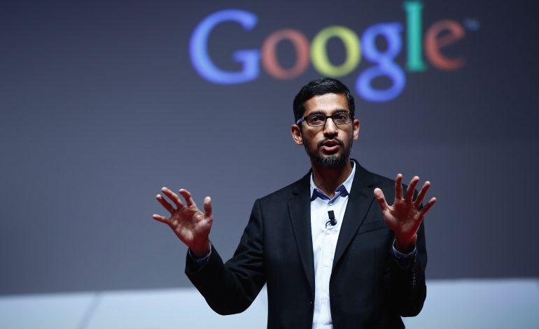 Google will never sell data to 3rd parties: Sundar Pichai, Google CEO