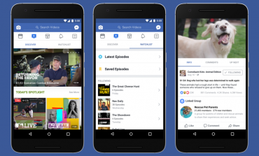 Facebook Launches 'Watch' A Platform Exclusively For Shows On Facebook