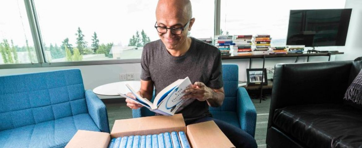 """Microsoft CEO Satya Nadella Going To Launch His Book on """"Journey of becoming the CEO"""""""