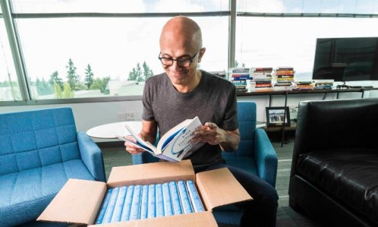 "Microsoft CEO Satya Nadella Going To Launch His Book on ""Journey of becoming the CEO"""