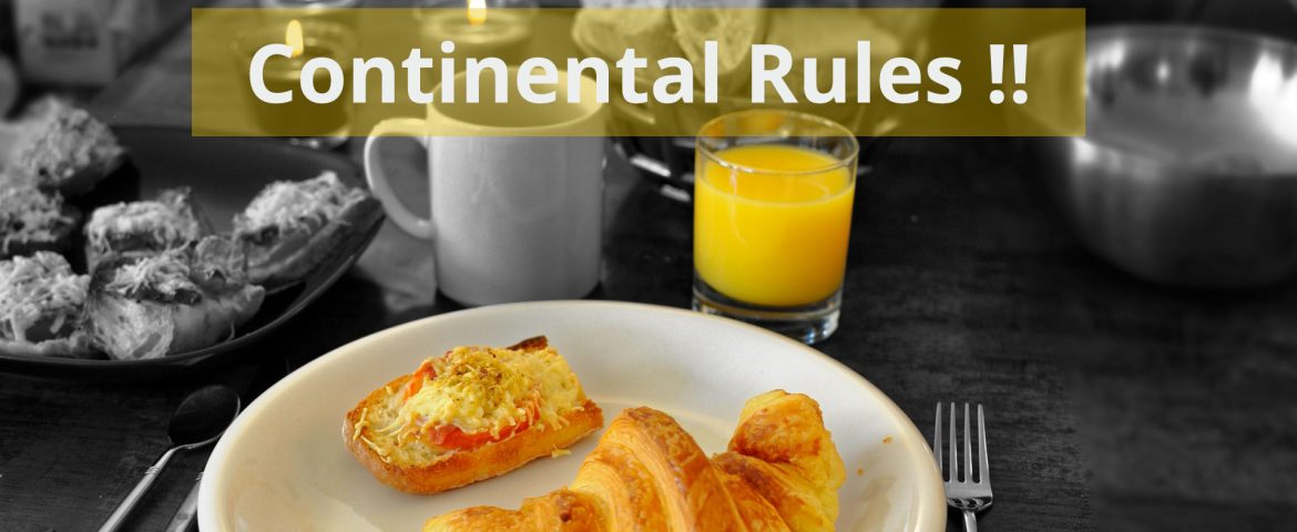 The 'Rule' Of Continental Food In India
