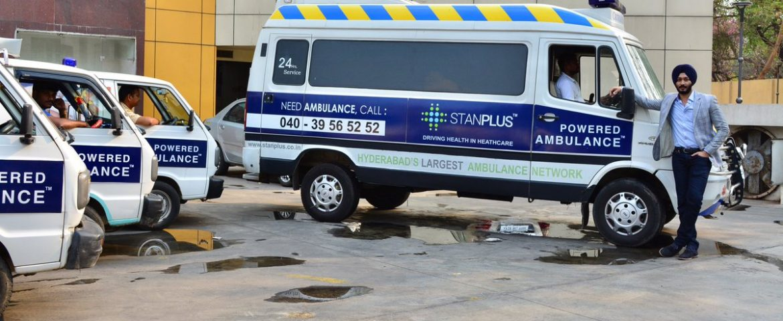 On-demand Ambulance Service Startup StanPlus Raises $1.1 Mn Seed Funding