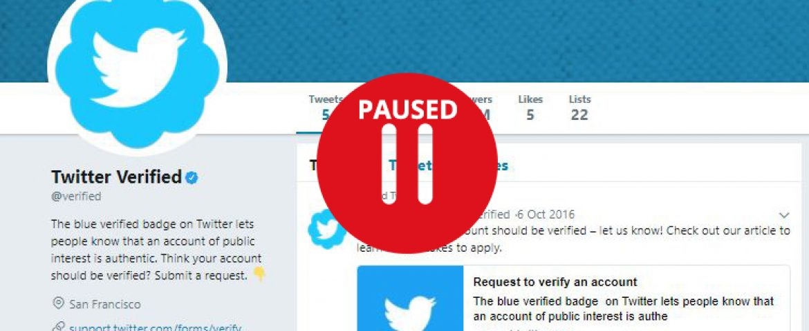 Know why Twitter Suspended Its Blue Check Mark Verifications