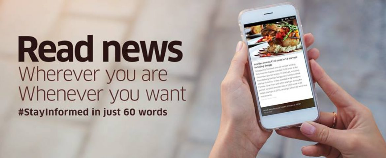 Ads Drive Main Revenue In Short News App InShorts