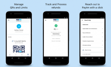Paytm Launch Business App For Merchants
