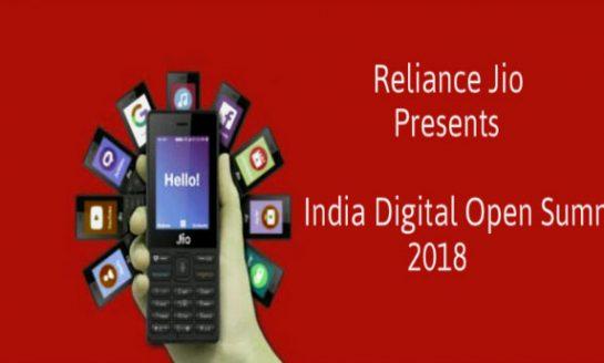 Reliance Jio to Host India Digital Open Summit on January 19
