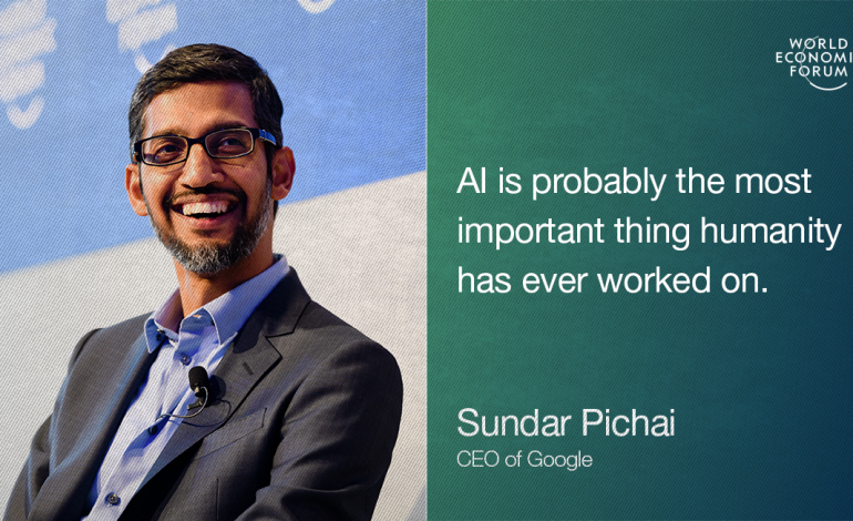 AI will be Bigger Than Electricity or Fire- Sundar Pichai, Google CEO