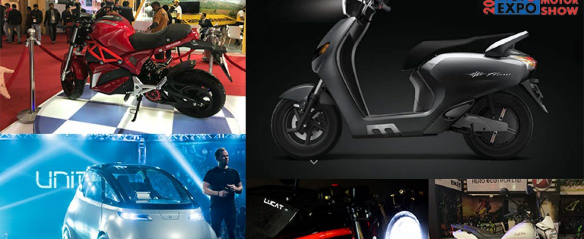 Top 5 Electric Vehicles to Buy at Auto Expo 2018