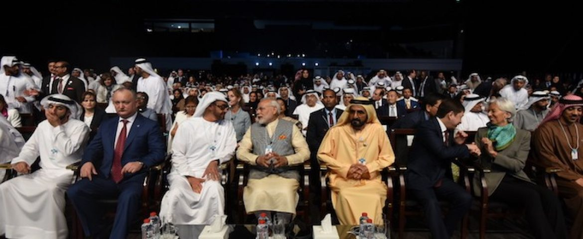 How Indian Prime Minister Set the Stage For India at Dubai's World Government Summit