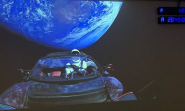 SpaceX launches Falcon Heavy with Elon Musk's Tesla Car in it