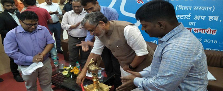 Sushil Modi Sets Up First 'Startup Hub' in Patna