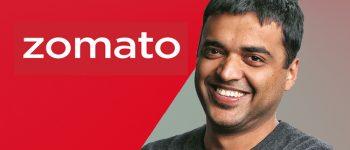 Zomato CEO Announces $100 Mn Annual Revenue Run Rate