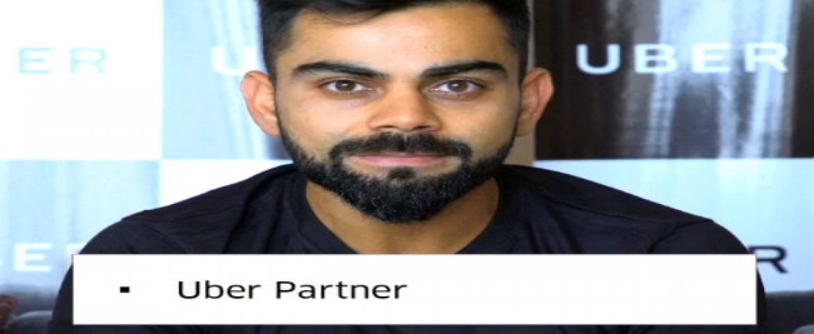 Indian Skipper Virat Kohli Becomes First Brand Ambassador of Uber India