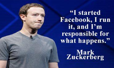 """Mark Zuckerberg - """"It Was My Mistake, I'm Sorry."""""""