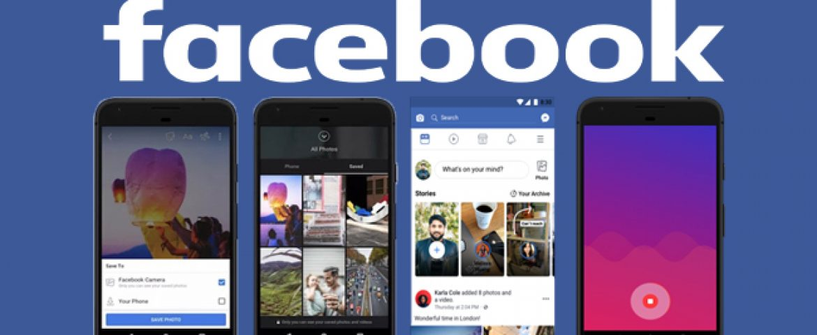 Facebook is Adding A Photo Cloud Storage and 2 More Features to its App